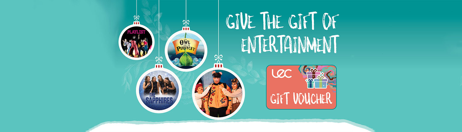 Give the gift of entertainment LEC gift voucher