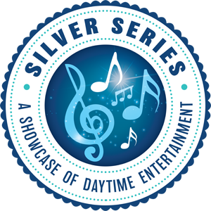 Silver series showcase of daytime entertainment logo
